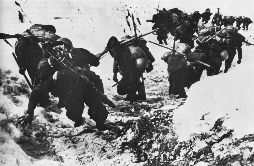 la guerra sulle alpi occidentali