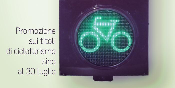 Offerta sui titoli di cicloturismo sino al 30 luglio