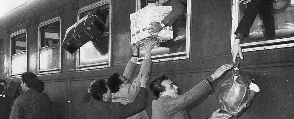 Da Un secolo d\'immigrazione a Torino, di Gianni Oliva.