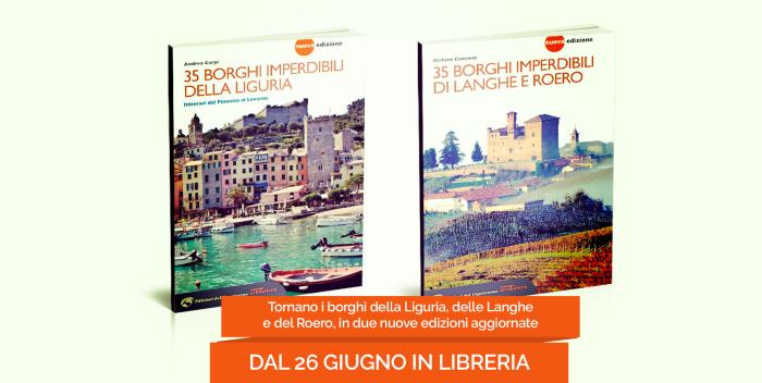Tornano in una nuova edizione i borghi di Liguria Lange e Roero
