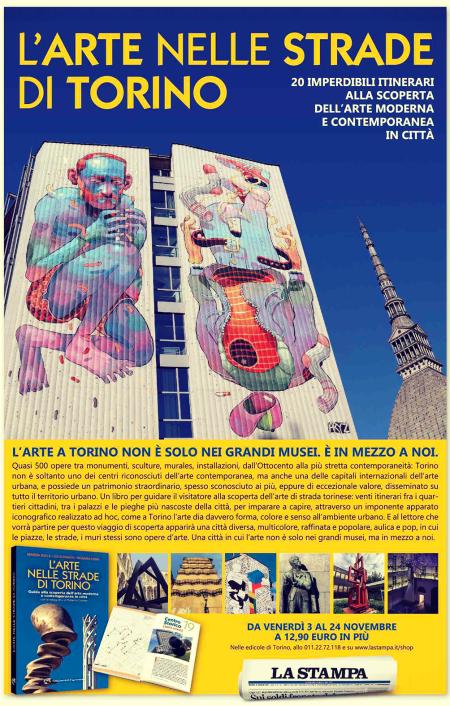 nuove uscite Arte nelle strade di Torino - Edizioni del Capricorno