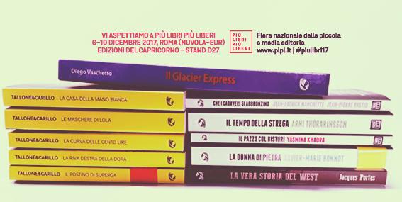 Edizioni del Capricorno a Più libri più liberi 2017