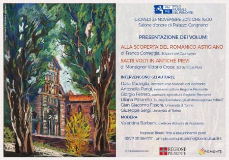 romanico astigiano a palazzo Carignano 23 novembre