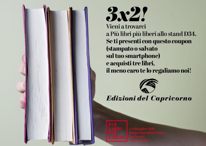 Edizioni del Capricorno a Più libri più liberi 2018