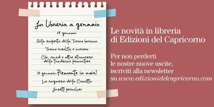 Edizioni del Capricorno - novità gennaio 2019