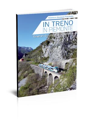 In treno in Piemonte