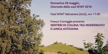 Giornata oasi WWF 2016 Franco Correggia presenta Sentieri di Collina