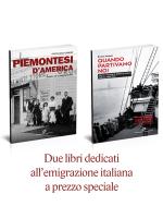 due libri dedicati all'emigrazione italiana