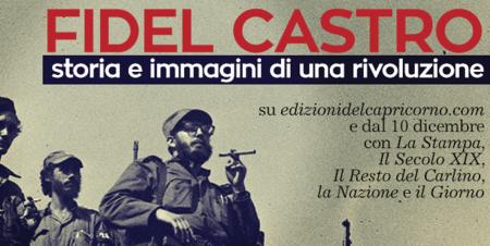 Fidel Casto. Storia e immagini di una rivoluzione, di Bruno Maida. Edizioni del Capricorno 2016