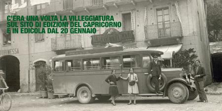 nuove uscite edizioni del capriocorno libro c'era una volta la villeggiatura
