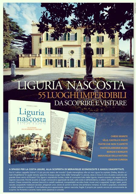 Liguria nascosta di Andrea Carpi - Edizioni del Capricorno