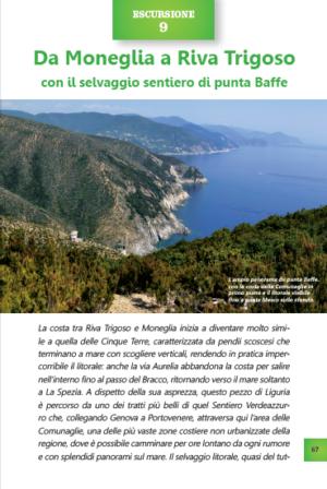 A piedi sul mare della Liguria