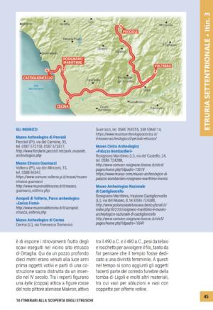 10 itinerari alla scoperta degli Etruschi