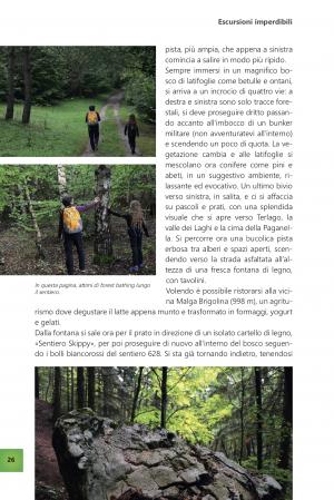 Passeggiate benessere in Trentino