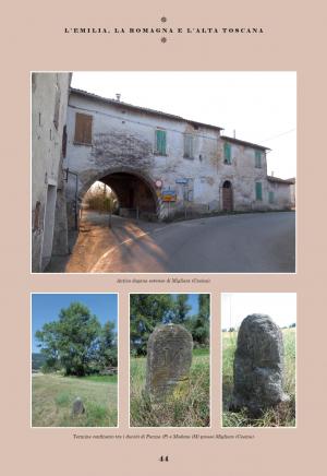 L'Emilia, la Romagna e l'alta Toscana
